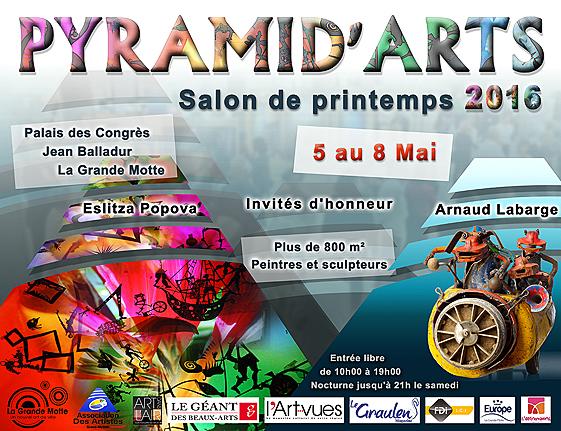 Pyramid'Arts de printemps 2016