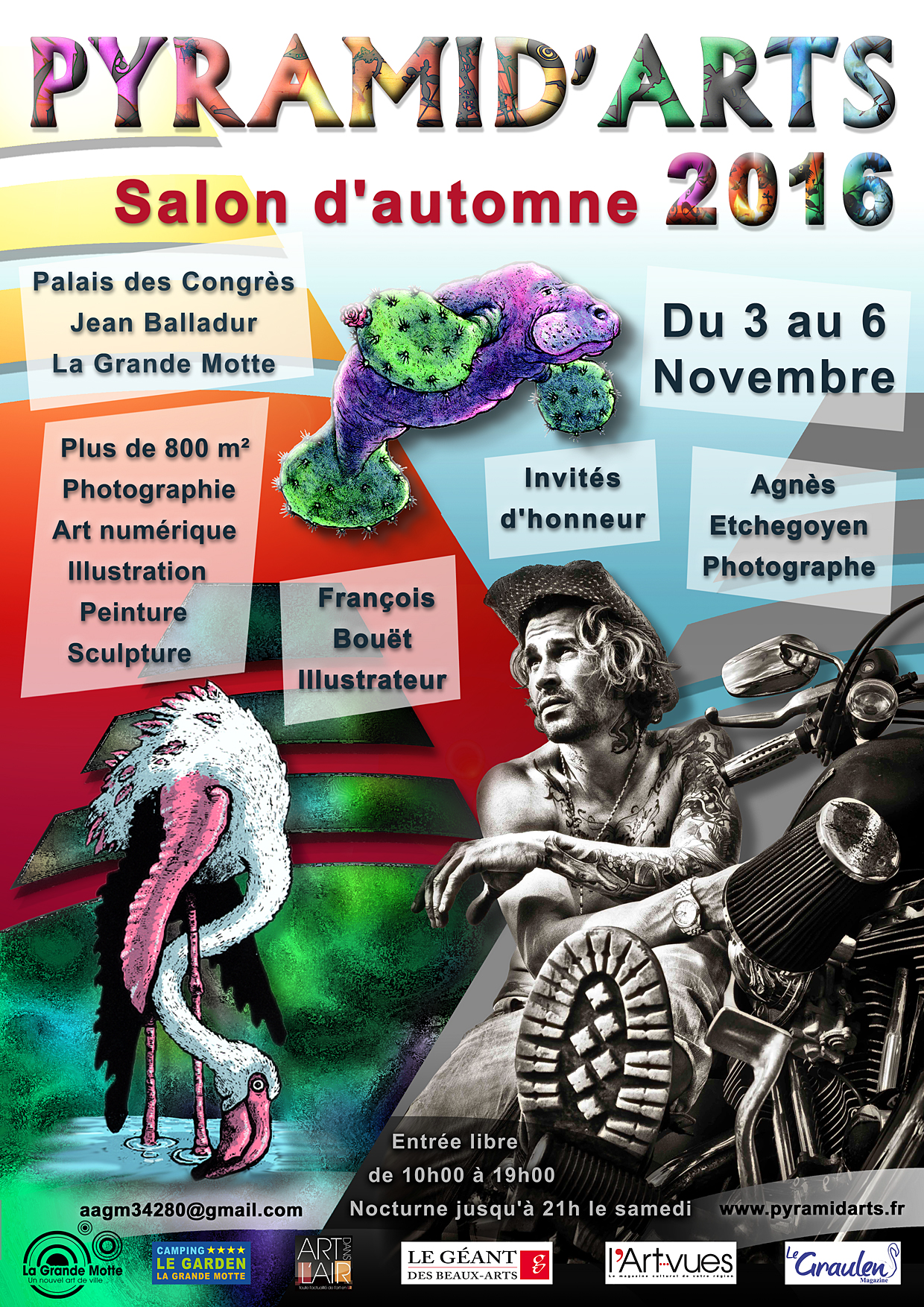 Salon d'automne Pyramid'Arts 2016